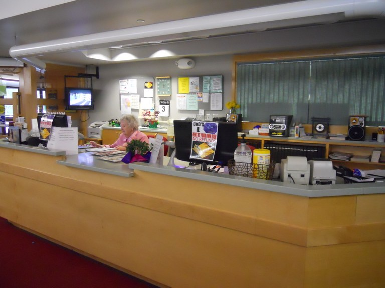 The Circulation Desk