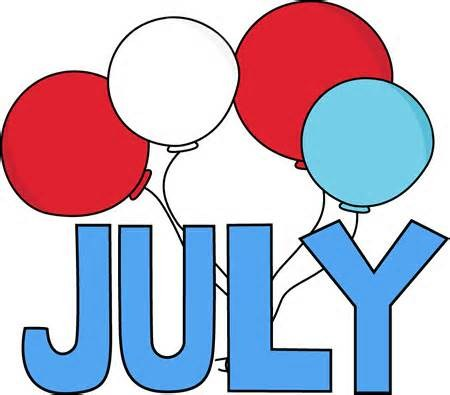 July word balloons